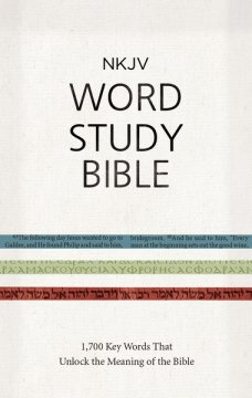 NKJV Word Study Bible Review