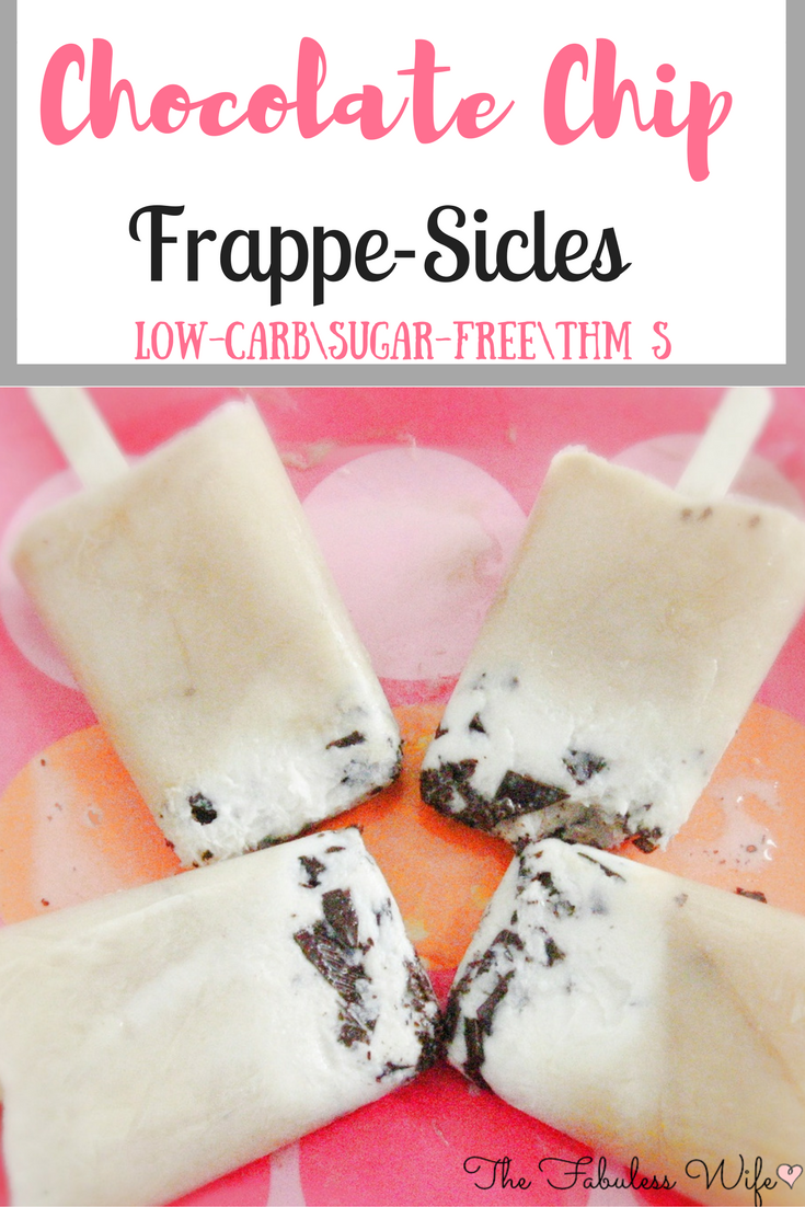 Chocolate Chip Frappe-Sicles