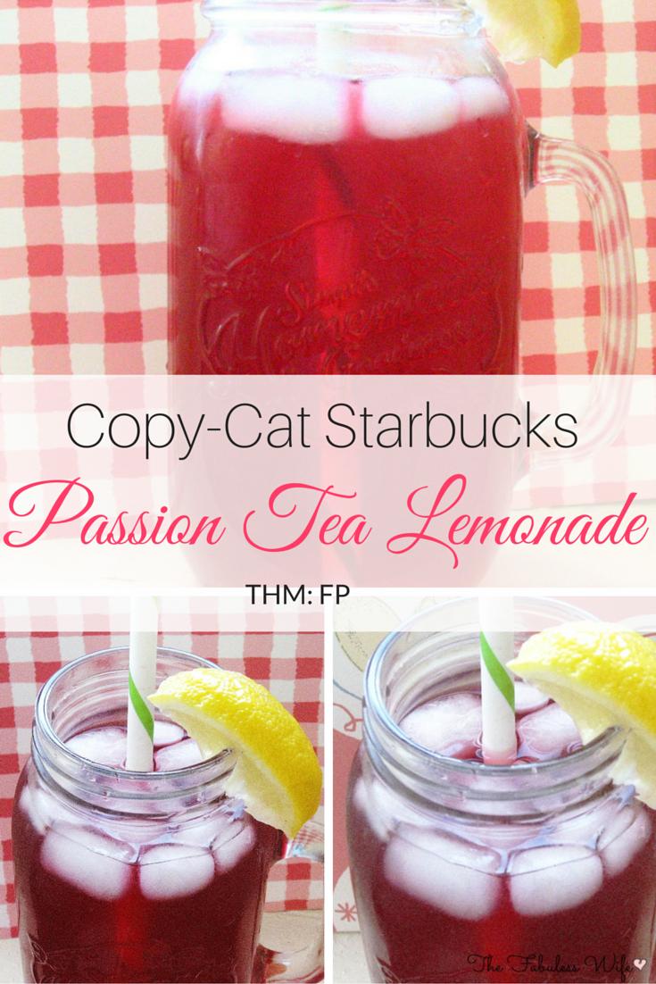 Passiontea Lemonade