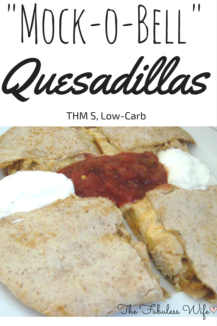 Mock-O Bell Quesadillas
