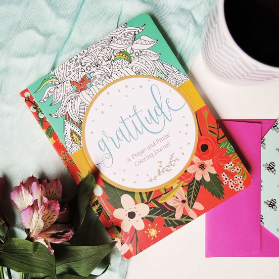 Gratitude: A Prayer and Praise Coloring Journal Review